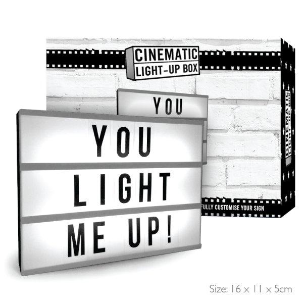 CINEMATIC LIGHT UP BOX MINI