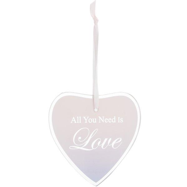 SENTIMENTS HEART PLAQUE LOVE