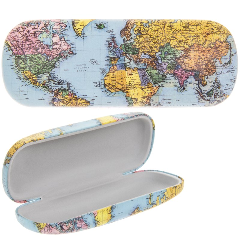 WORLD TRAVELLER GLASSES CASE