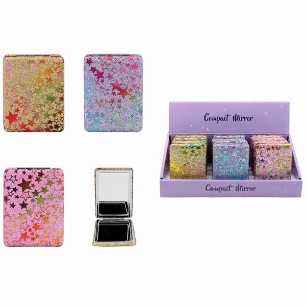 GLITTER COMPACT MIRROR 3 AS