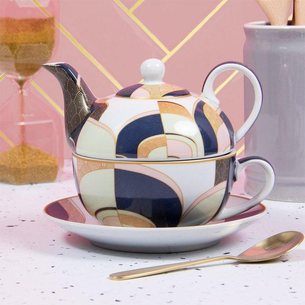 ART DECO TEA FOR ONE