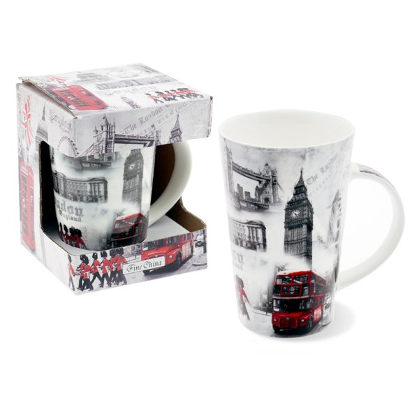 LONDON LATTE MUG BOXED