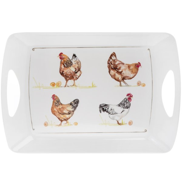 CHICKENS TRAY XL