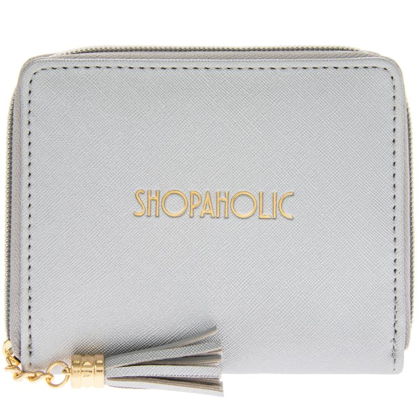 SHINE BRIGHT SILV SMALL WALLET