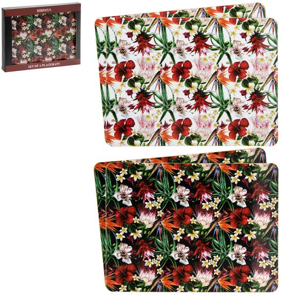HIBISCUS PLACEMATS S4