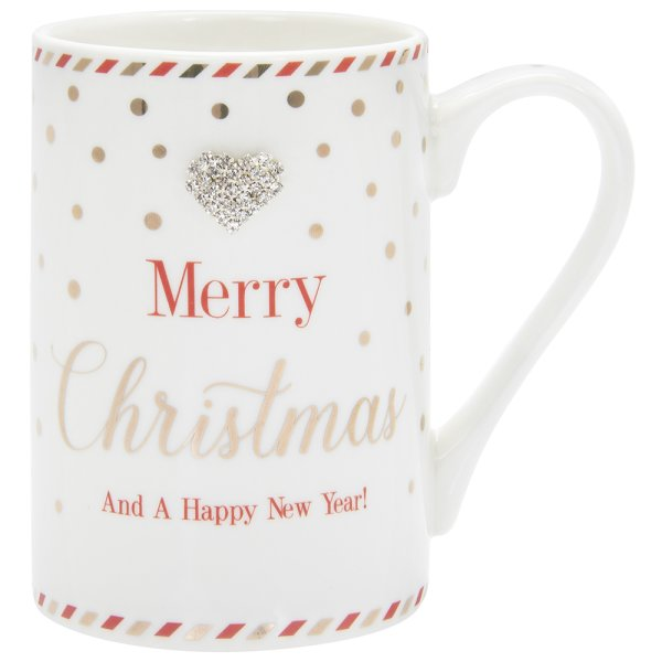 MAD DOTS XMAS HAPPY NY MUG