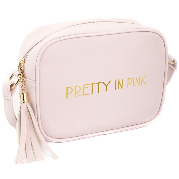SHINE BRIGHT SHOULDER BAG PINK