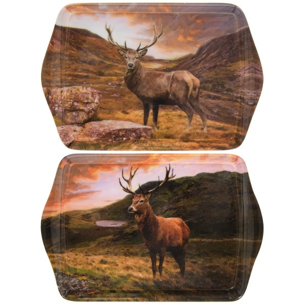 STAGS SMALL TRAY 2 ASST
