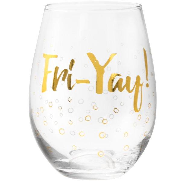 FRIYAY STEMLESS GLASS