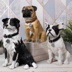 Dog Figurines on Social Media