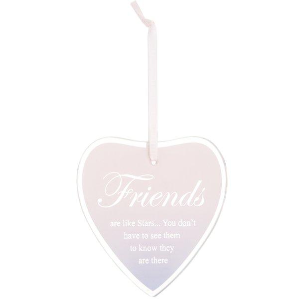SENTIMENTS HEART PLAQUE FRIEND