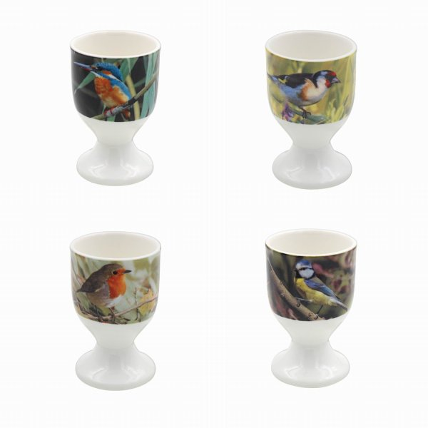 BIRDS EGG CUPS S/4