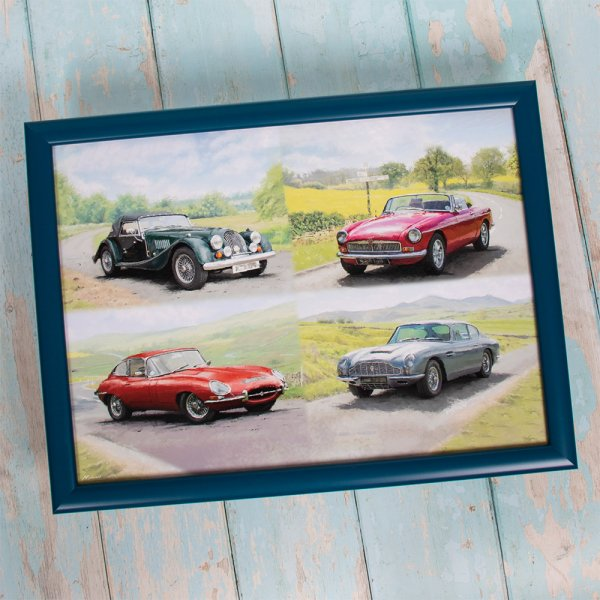 CLASSIC CARS LAPTRAY