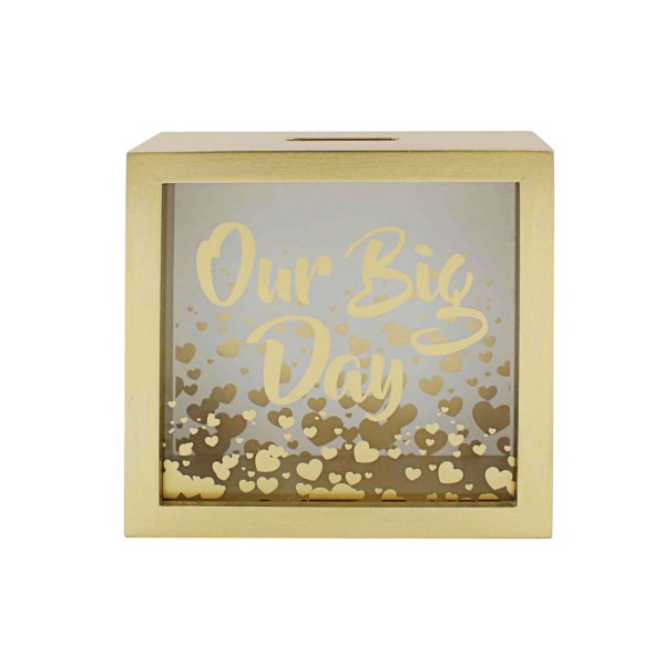 OUR BIG DAY MONEY BOX