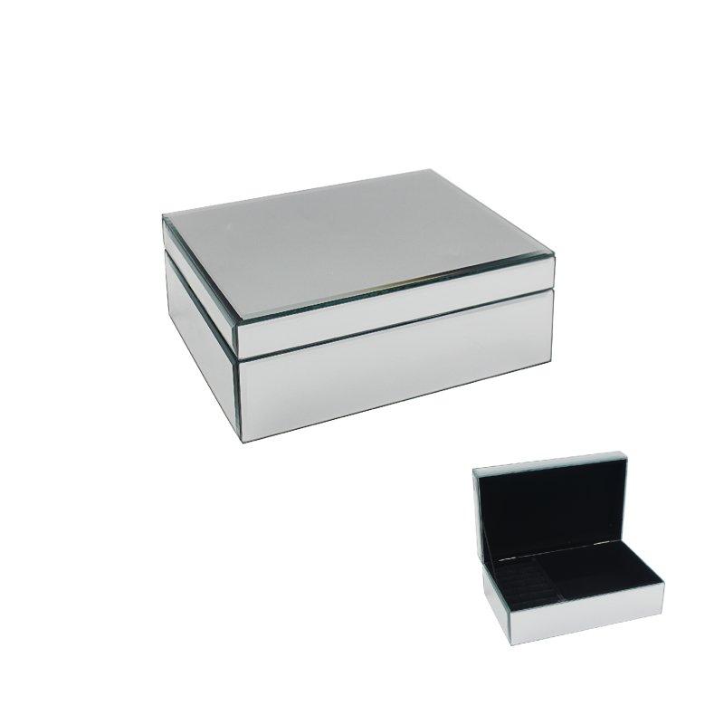 MIRROR JEWELLERY BOX LGE
