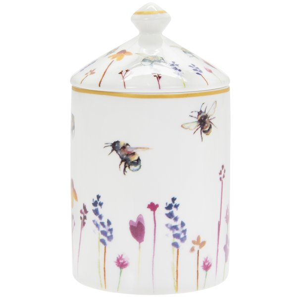 BUSY BEES CANDLE JAR