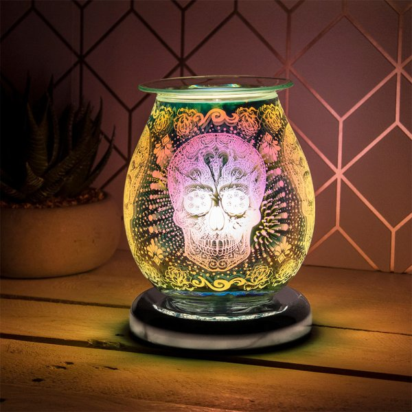 DESIRE AROMA LAMP SKULL