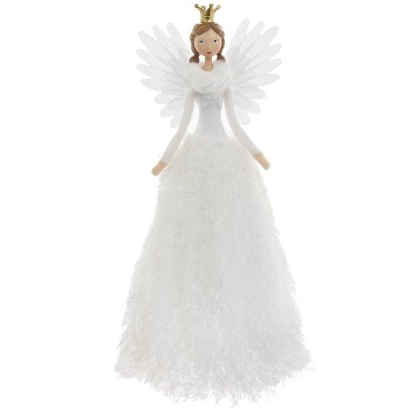 ANGEL STANDING WHITE