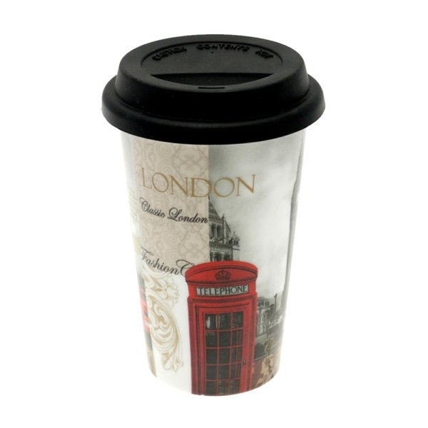 NEW LONDON TRAVEL MUG