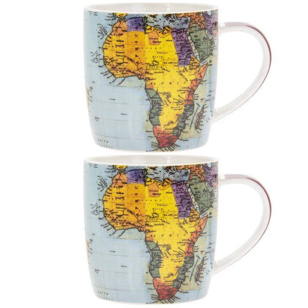 WORLD TRAVELLER MUG 2ASST