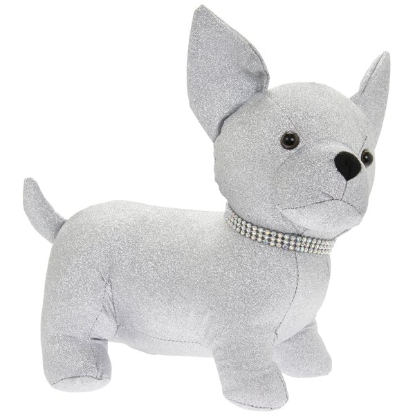 SILVER BLING CHIHUAHUA DOORSTP