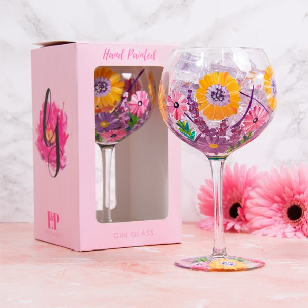 SUNFLOWERS GLASS