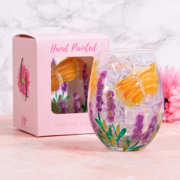 BUTTERFLY STEMLESS GLASS