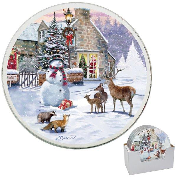MAGIC OF CHRISTMAS CNDLPLT20CM