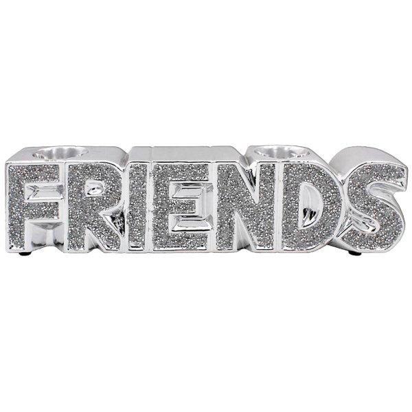 SILVER SPARKLE FRIENDS