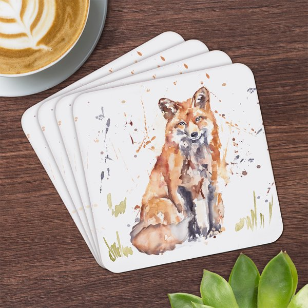 COUNTRY LIFE FOX  COASTERS S4