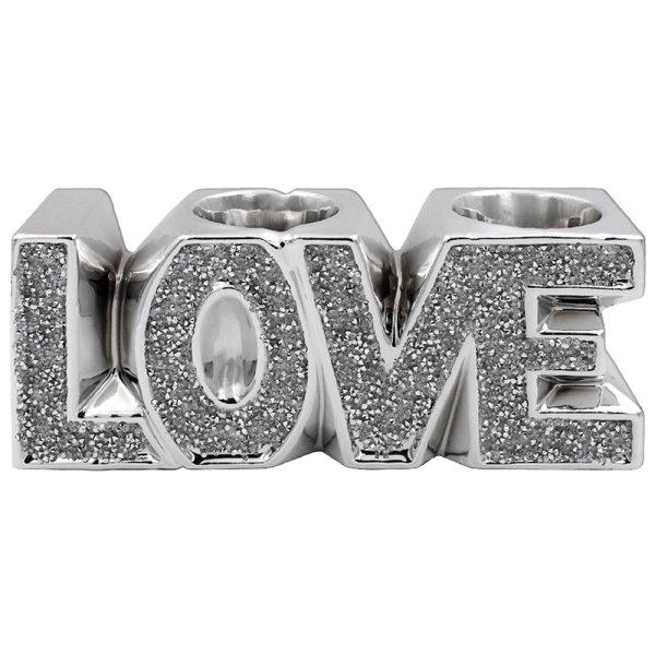 SILVER SPARKLE LOVE