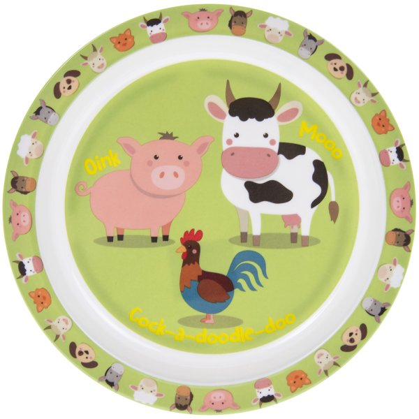 LITTLE STARS FARMYARD PLATE