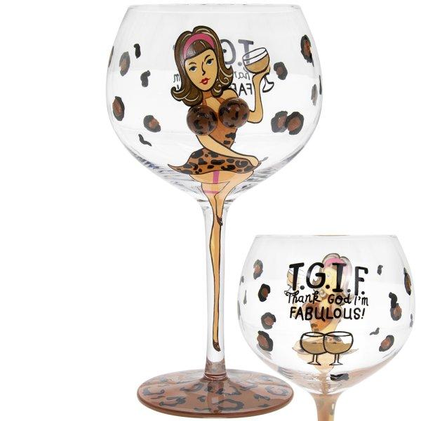 GIN GLASS GIN DIVA