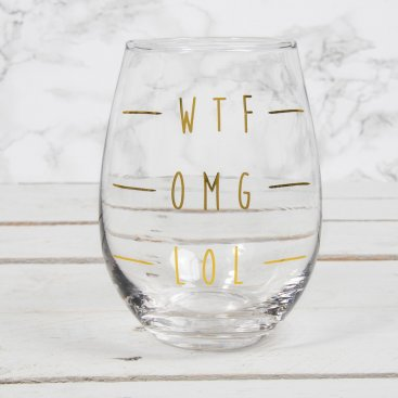 GOLD EDITION GLASSWARE