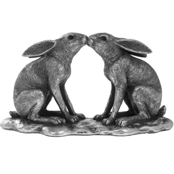 REFLECTIONS SILV KISSING HARES