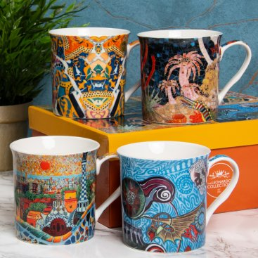 MUG SETS OF 4 ARTISTS