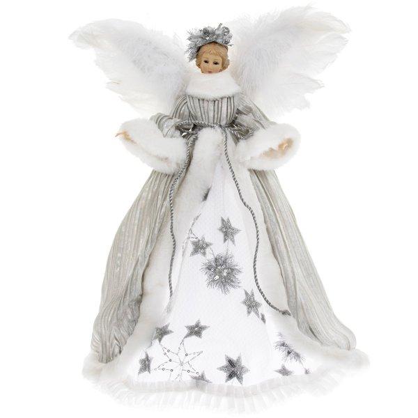 "ANGEL TREE TOP SILVER 16"""