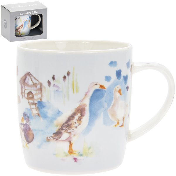 COUNTRY LIFE DUCKS MUG
