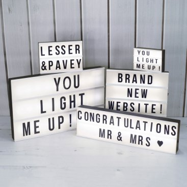 LIGHT BOXES & LED GIFTS