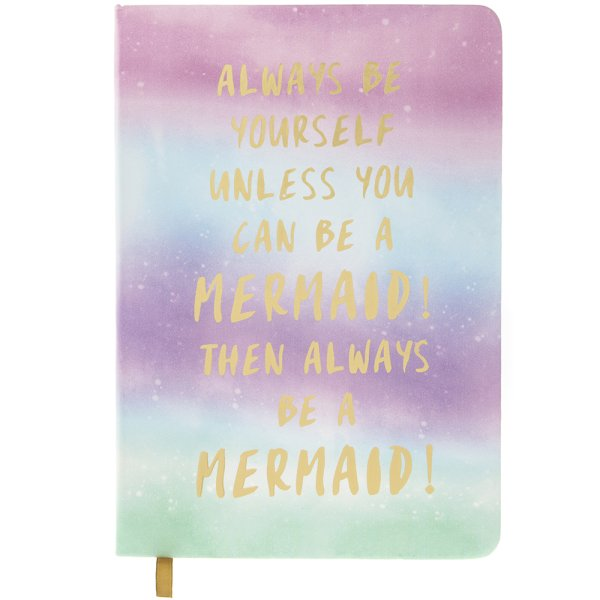 MERMAID NOTEBOOK A5