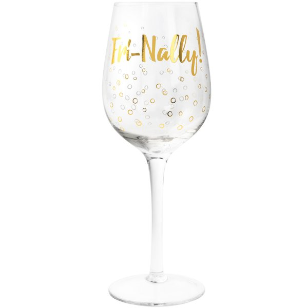 FRI NALLY WINE GLASS