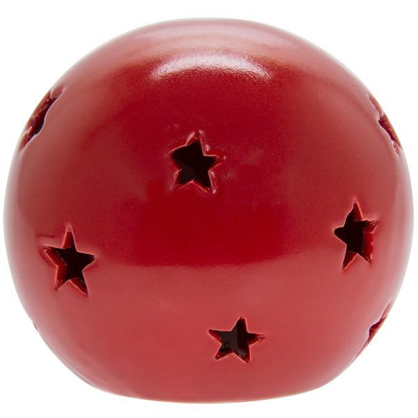 RED STAR LED BALL L