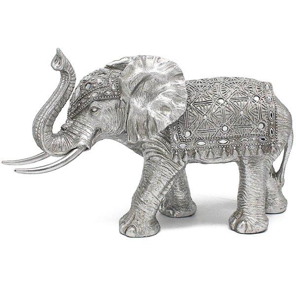"SILVER ART ELEPHANT 20"""