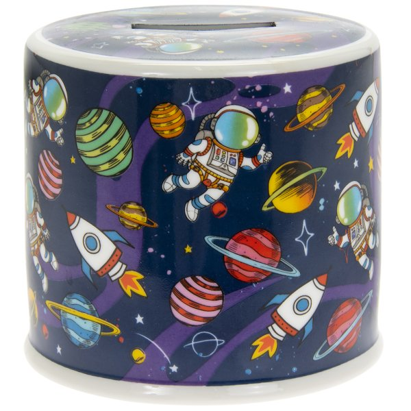 SPACEMAN MONEY BOX