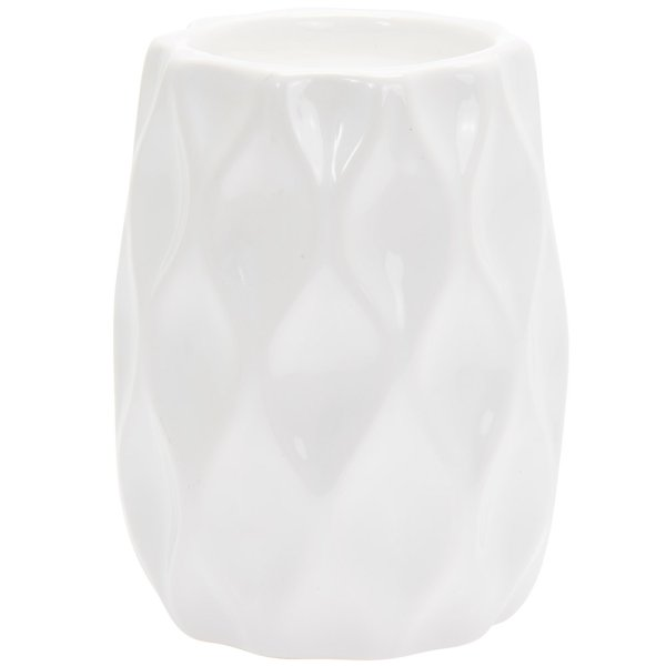DESIRE WAVE CANDLE WHITE