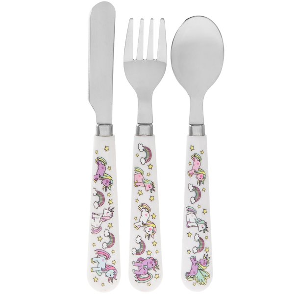 LITTLE STARS UNICORN CUTLERY