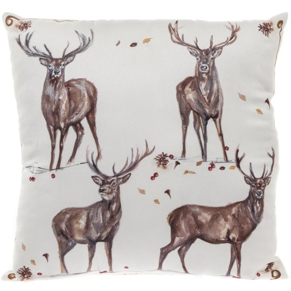 WINTER STAGS LED CUSHION