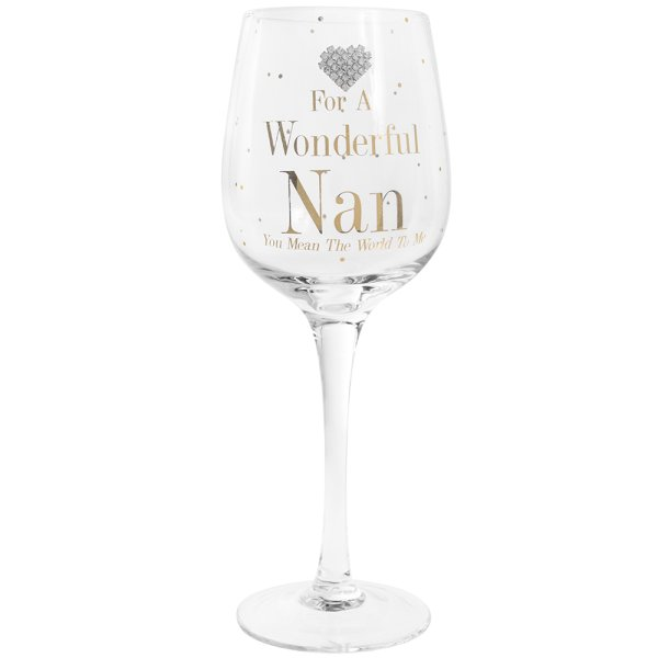 MAD DOTS NAN WINE GLASS
