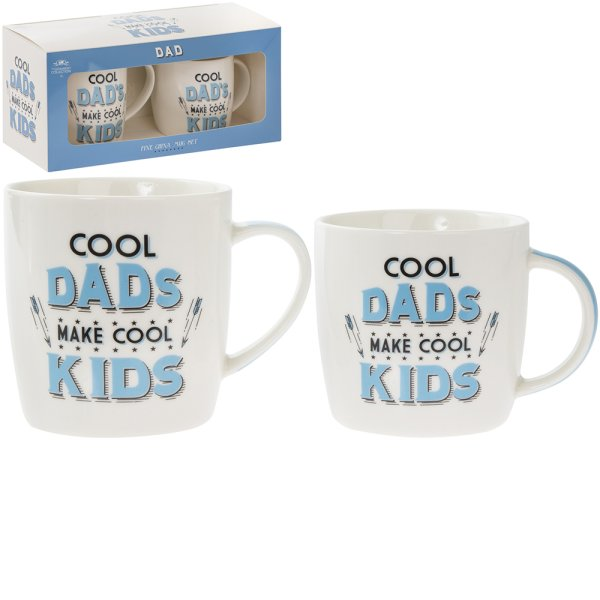COOL DADS MUGS 2 SET