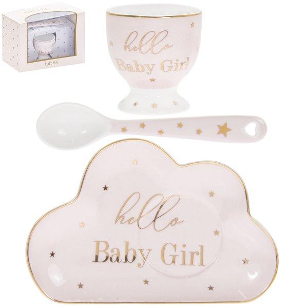 MADDOTS HELLO BABY GIRL SET